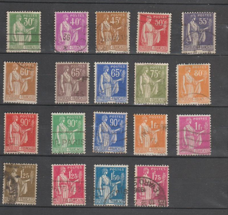 France #264-280,282-283 Used