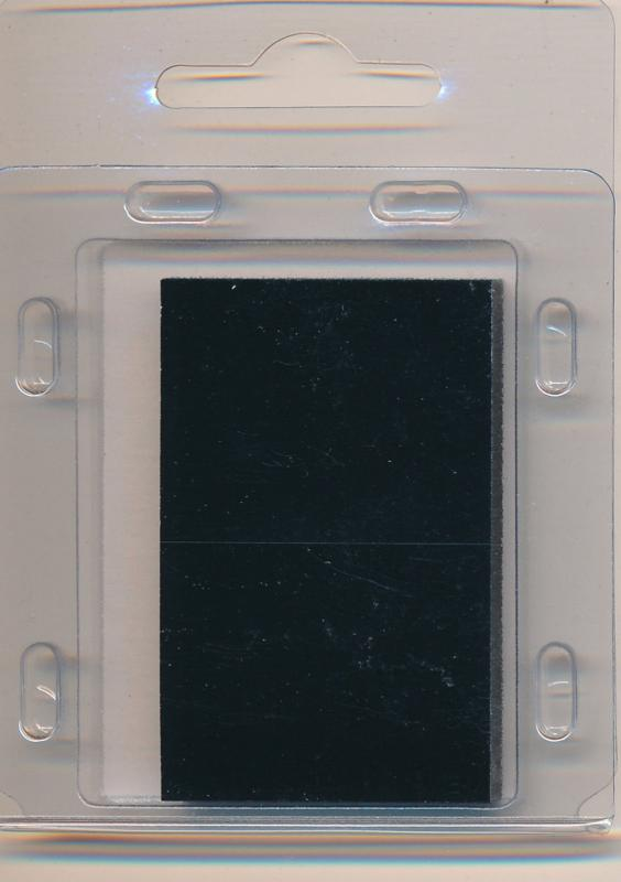 Prinz Scott Stamp Mount Size 31/50 - BLACK (Pack of 40) (31x50  31mm)  PRECUT