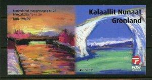 Greenland #782a (GR471) Comp 1018 Europa bklt, MNH, VF, CV$67.50