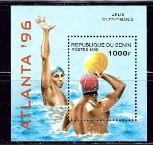 Benin 835 MNH 1996 Olympics S/S