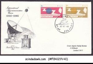 FIJI - 1965 INTERNATIONAL TELECOMMUNICATION UNION ITU FDC