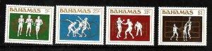 Bahamas-Sc#559-62-unused NH set-Sports-Summer Olympics-1984-