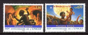 UN Geneva 294-295 UNICEF MNH VF