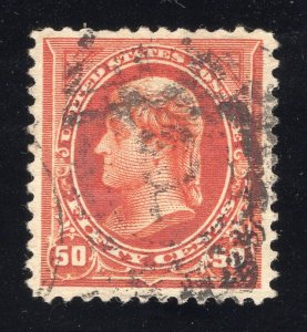 US#275a Red Orange - Well Centered - Cat:$47.50