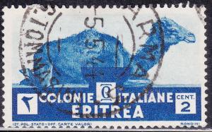Eritrea 158 USED 1934 Camel Sitting