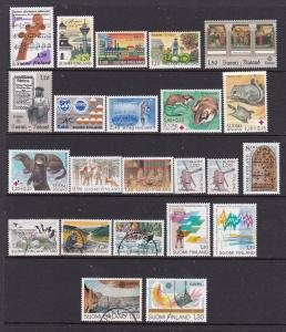 Finland a selection of M&U moderns mainly sets