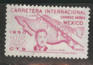 Mexico Scott C199 MNG 1950 bridge airmail stamp