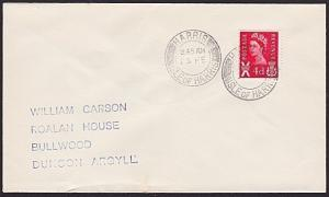 GB SCOTLAND 1970 cover HARRIS ISLE OF HARRIS cds, year missing .............7405