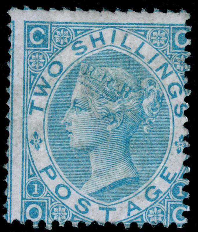 SG120, 2s pale blue, LH MINT. Cat £4700. OC