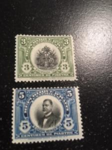 Haiti sc 1914 issue never placed for sale