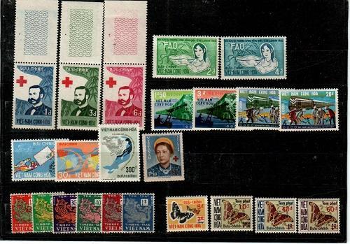 South Vietnam - Mint NH sets (Catalog Value $46.25) [TC765]