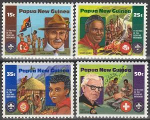 Papua New Guinea #554-7 MNH F-VF (SU5479)