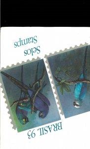 Brazil 1993 & 1994 Complete Year Sets in Brazil Post Folders.