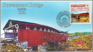 CA19-041, 2019, Historic Covered Bridges, Pictorial Postmark, First Day Cover,