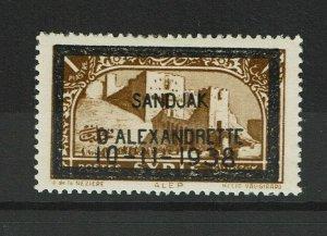 Alexandretta SC# 14, Mint Hinged, Hinge Remnant - S9785