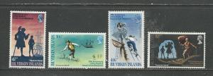 British Virgin Islands # 198-201 Unused HR See Desc