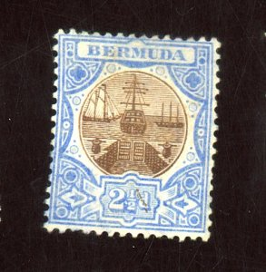 BERMUDA #37 MINT FVF OG HR Cat $29