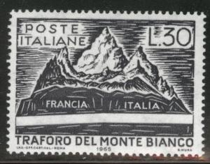 Italy Scott 913 MNH** 1965 Mont Blanc
