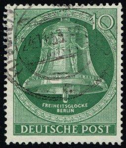 Germany #9N95 Freedom Bell; Used (3Stars)
