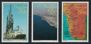 Namibia Incorporation of Walvis Bay Territory into Namibia 3v SG#641-643
