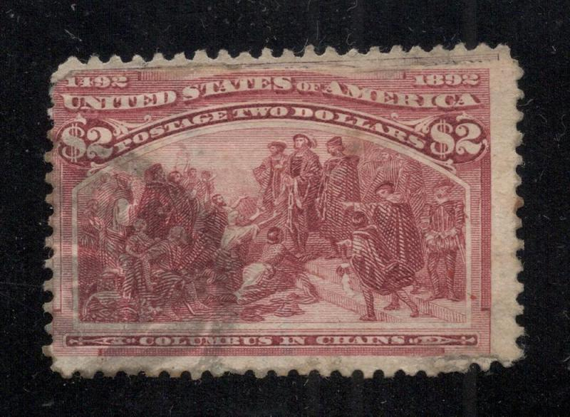 US#242 Brown Red - Used - Flaws