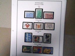 1989-90  Netherlands  Semi-Postal  MNH  full page auction