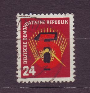 J23299 JLstamps 1951 germany DDR set of 1 used #89 5 year plan