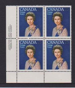 CANADA PLATE BLOCK MNH STAMPS #704 LOT#PB540