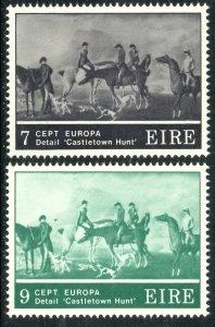 IRELAND 1975 EUROPA Art Set Sc 369-370 MNH