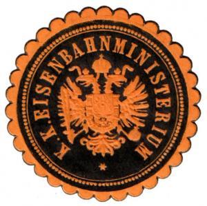 (I.B) Austria Cinderella : State Railway Ministry Seal