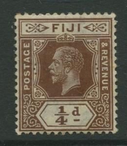 Fiji - Scott 79 - KGV - Definitive - 1912 - MH - Single 1/4d Stamp
