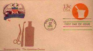United States, Postal Stationery, First Day Cover, Texas