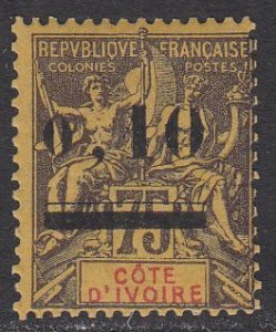 Ivory Coast 19 MVLH (see Details) CV $18.00