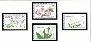 Grenada 1206-09 MNH 1984 Local Flowers     (KA)