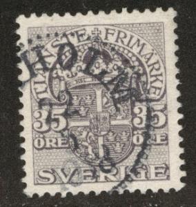 SWEDEN Scott 054 used official