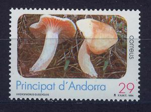 ANDORRA SPANISH 1994 MNH SC.230 Mushrooms