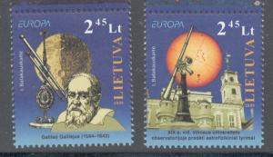 Lithuania Sc 892-3 2009 Europa stamp set mint NH
