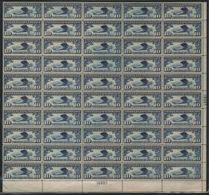 #C10 Stamp Sheet, Mint-VF-Sup-OG-NH One Of The Finest Sheets (DFP 2/27/20)