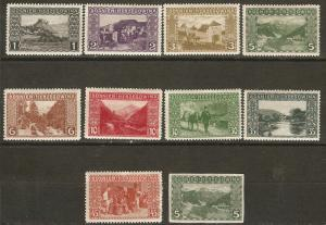 Bosnia & Herzegovina 10 Different MH VF 1906 SCV $8.85