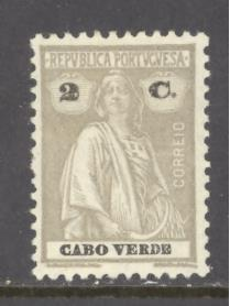 Cape Verde Sc # 178 mint hinged perf 12 X 11 1/2 (RS*)