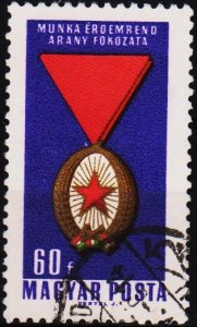 Hungary. 1966 60fi S.G.2176 Fine Used