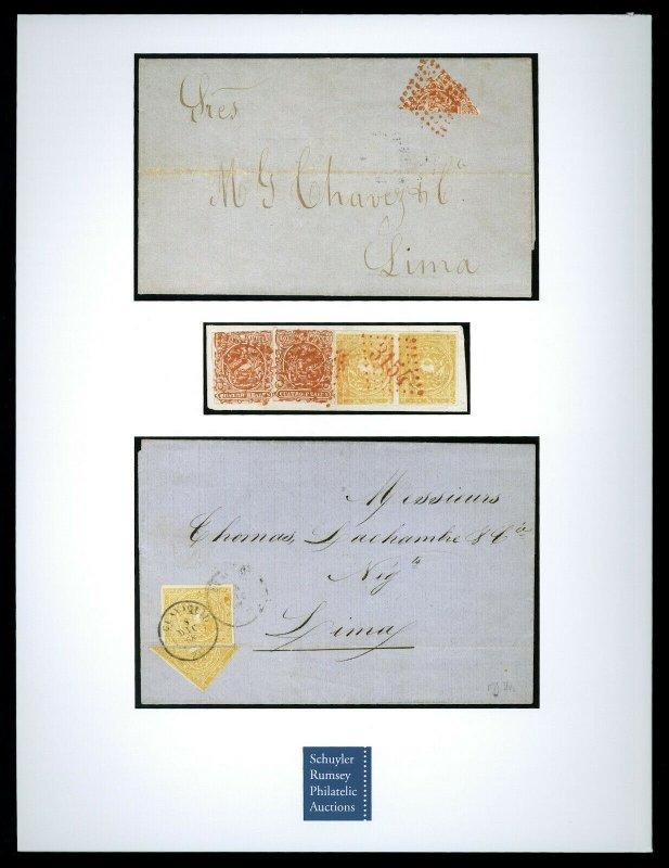 Schuyler Rumsey Auction Catalog: Stamps & Postal History of Ecuador, April 2019