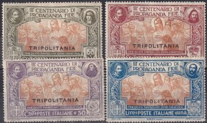 Tripolitania #1-4   F-VF Unused CV $30.00 (Z6862)