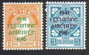 IRELAND 1941 Easter Rising opt set mint hinged.............................52391