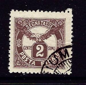 Fiume J13 Used 1919 issue