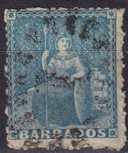 Barbados #29 Used  CV $4.50 (Z2450)