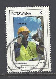 Botswana Sc # 472 used (DT)