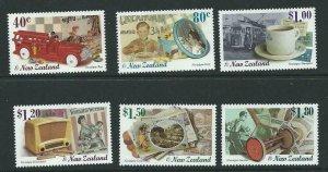 NEW ZEALAND SG2239/44 1999 MILLENNIUM SERIES (4th SERIES) MNH