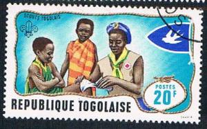 Togo 658 Used Boy Scouts (BP11721)