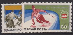 Hungary Sc#2394-2395 Used